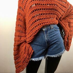 Levi's Shorts - Levi's Frayed Denim Shorts